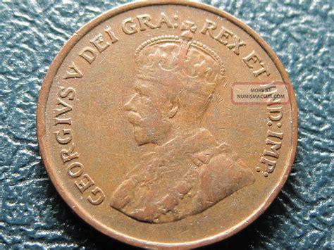 Canada 1924 Fine/ Very Fine Key Date Small Cent