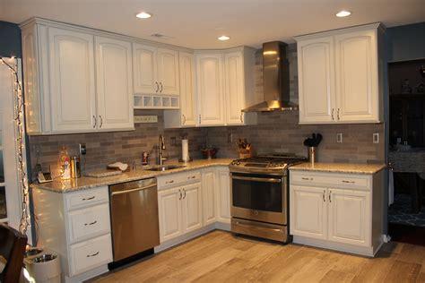 Full Kitchen View-lady Grey Brushed Stone Tile