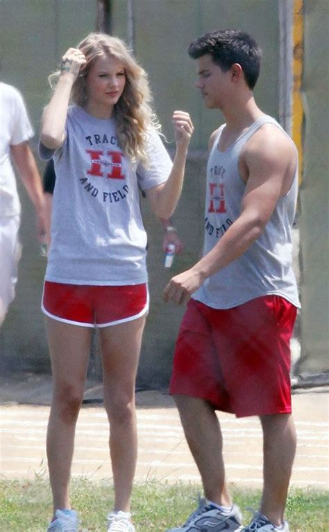 Taylor Swift and Taylor Lautner | Taylor swift dress ...