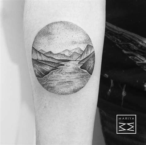 gorgeous landscape tattoos inspired  nature tattooblend
