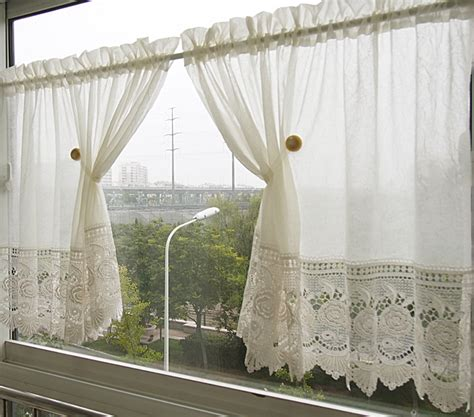 White Lace Kitchen Curtains by White Lace Kitchen Curtains Kitchen Ideas