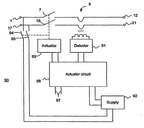 Earth Leakage Circuit Breaker Wiring Diagram by Patent Ep1805861b1 Earth Leakage Circuit Breaker