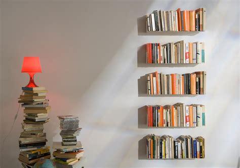 mensole per libri mensole per libri quot us quot set di 4 acciao