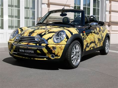 2005 Mini Cabriolet By Donatella Versace Front Angle