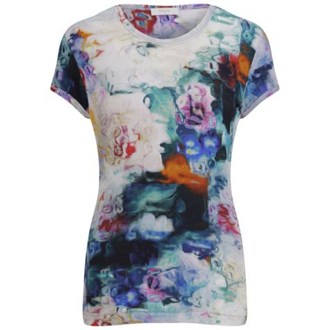 paul by paul smith s underwater floral t shirt white free uk delivery 163 50