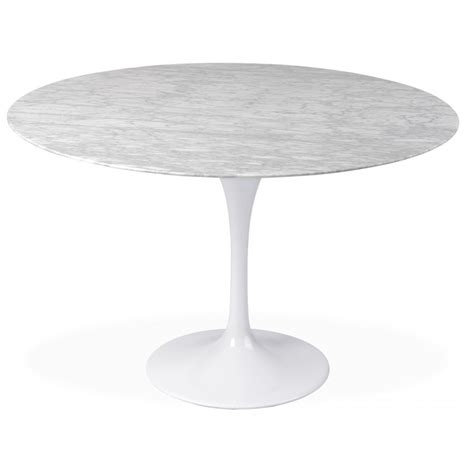 marble tulip dining table tulip marble table 90cm the natural furniture company ltd