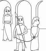 Joseph Potiphar Coloring Wife Bible Children Egypt Genesis Potiphars Crafts Curriculum Testament Kerra Tempted Coat Did Isaiah Throne sketch template