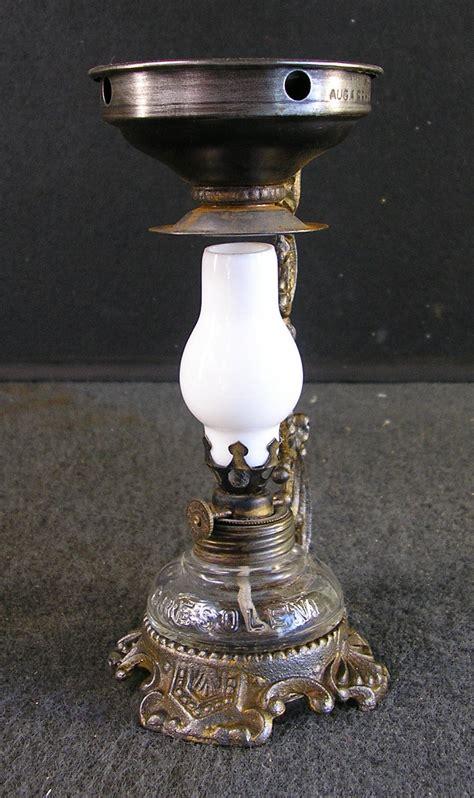 Kerosene Oil Lamp Wicks by Vapo Cresolene Antique Medical Lamp Dated 1888 Oil Lamp