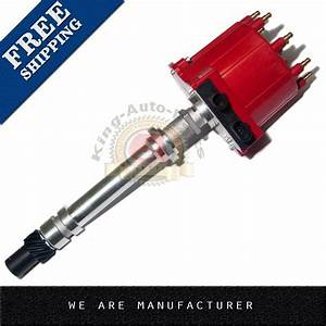 Ignition Distributor For Chevy Gm 350 5 7l Efi Tbi Tpi Vortec 5 0l Red Cap Roto