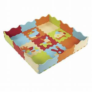 tapis mousse animaux ludi king jouet tapis d39eveil ludi With tapis de jeu en mousse pour bébé