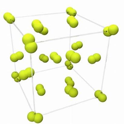Fluorine Structure Crystal Beta Animation Molecules Unit