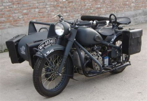 The Second World War Motorcycles (16 Pics)