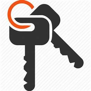 Access keys, bunch, key chain, key trinket, keychain ...