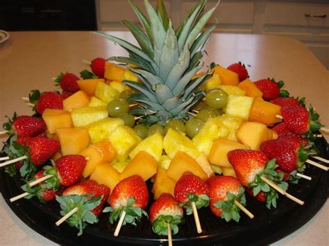 cheap easy canapes 25 best ideas about fruit kabobs on fruit