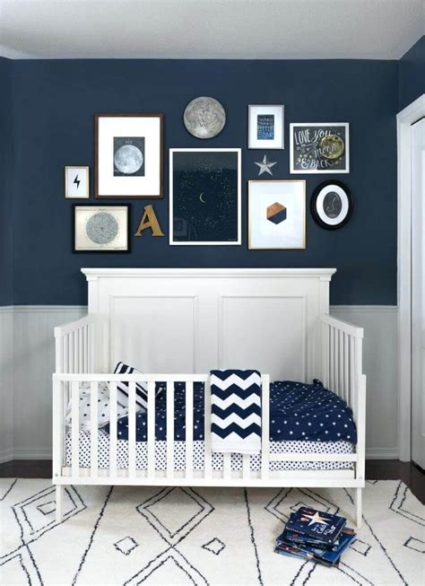 Just look how cute this rustic nursery changing table and wall is! 25 Gorgeous Baby Boy Nursery Ideas to Inspire You - Sorting With Style