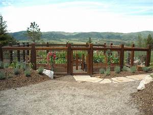 vegetable-garden-fence-ideas-Landscape-Eclectic-with