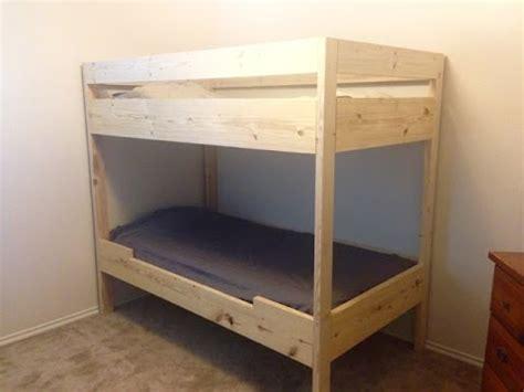 diy bunk bed    youtube