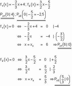 Achsenschnittpunkte Berechnen Quadratische Funktion : l sungen lineare funktionen teil xi ~ Themetempest.com Abrechnung