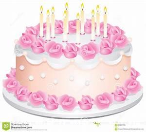 Kuchen 18 Geburtstag : geburtstag kuchen vektor abbildung bild von feier sahne 20291705 ~ Frokenaadalensverden.com Haus und Dekorationen