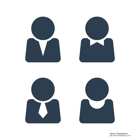 8 best of person icon infographic free