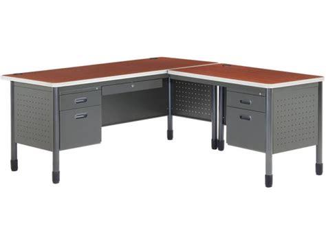 office desk with return mesa l shaped desk with right return msa 6729r office desks