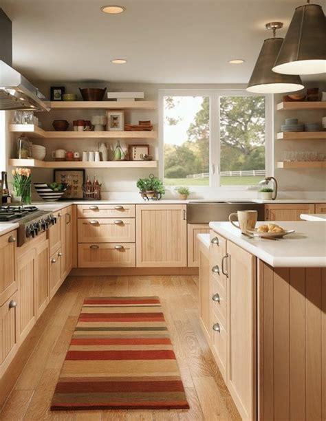 meuble cuisine pour studio le parquet clair c 39 est le nouveau hit d 39 intérieur pour 2017