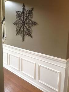 DIY Classic Wainscoting Tutorial Faux wainscoting, Wainscoting and House