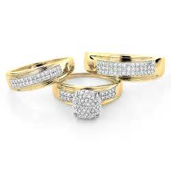 his and hers wedding bands wedding rings pictures his and hers wedding ring sets