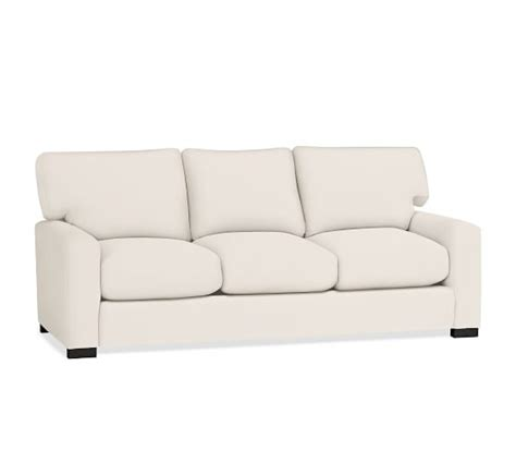 turner square arm upholstered sleeper sofa pottery barn