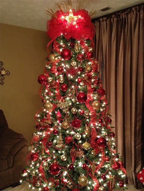 red  gold christmas images  pinterest diy