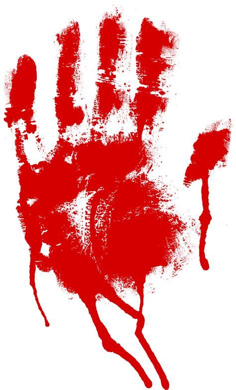 red bloody handprint png transparent onlygfxcom