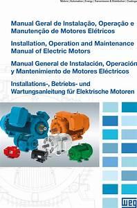 126267 2 Weg Electric Motor Owners Manual User