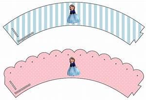 Decoración de cumpleaños de Princesa Sofía: Kit para imprimir gratis Kits para imprimir gratis