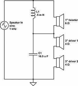 Audio - Calculating Impedance In A Two-way Speaker Crossover