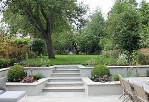 escalier exterieur jardin pour un espace vert optimise With escalier de terrasse exterieur