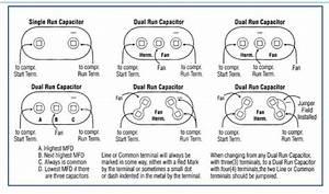 Dual Capacitor Wiring Diagram