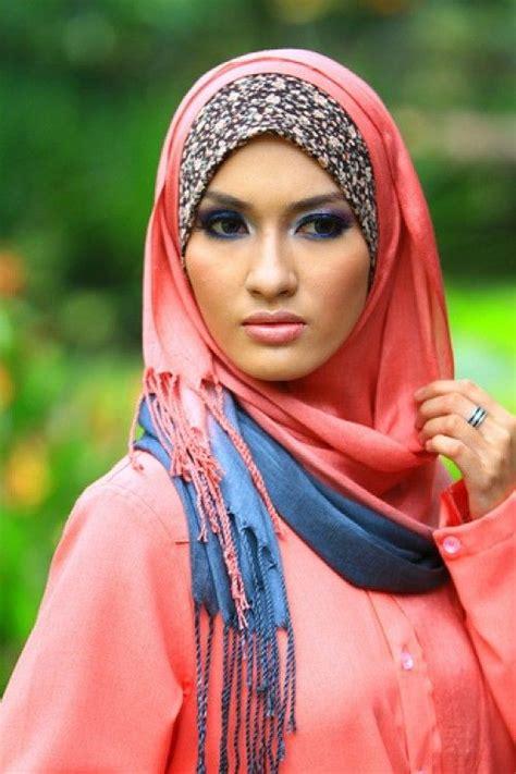 latest fashion summer hijab styles designs