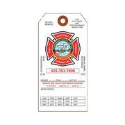 ft  annual fire extinguisher inspection tag