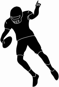 Football player silhouette clipart - Cliparting.com