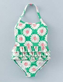 meadow green daisy ruffle swimsuit boden pennylicious