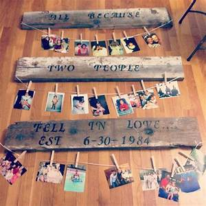 30th anniversary gift for my parents crafty pinterest for Gift for 40 wedding anniversary