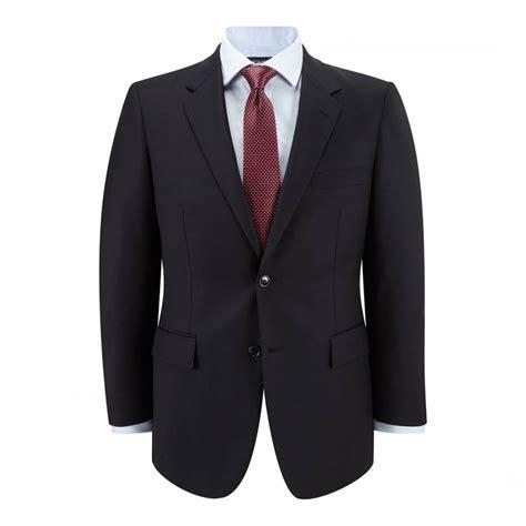 navy gabardine wool suit jacket brandalley