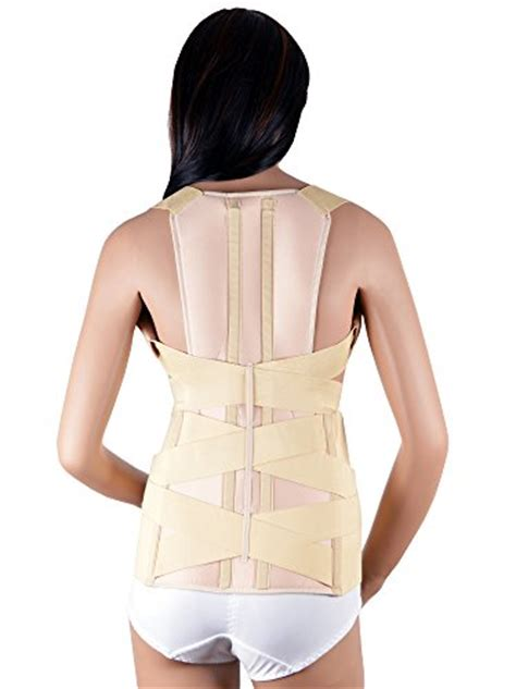 ASSISTICA® Medical Scoliosis Support Brace, Firm Posture ...
