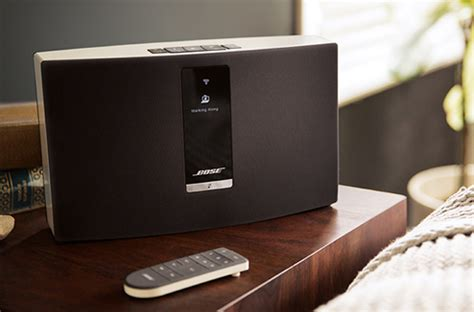 chaine hifi murale bose bose soundtouch le syst 232 me audio wi fi darty vous