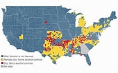 Where Not To Visit: The US Guide To Dry Counties - Geekologie