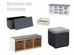 Sitztruhe Mit Stauraum : sitztruhe mit stauraum ~ Indierocktalk.com Haus und Dekorationen
