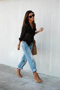 Baggy ripped jeans outfit | Things to Wear | Pinterest | Ripped Jeans Outfit Jean Outfits and ...