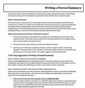 Formal Report Samples Free 10 Formal Writing Examples Samples In Pdf Doc