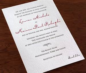 wedding invitation wording dress codes letterpress With wedding invitation dress code