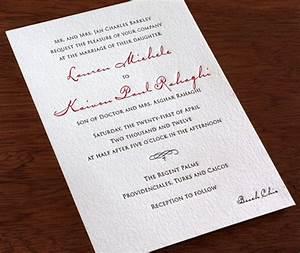 wedding invitation wording dress codes letterpress With wedding invitation etiquette formal attire